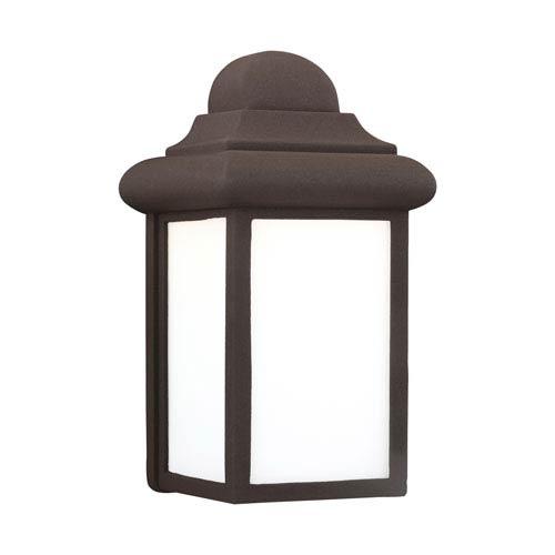 Mullberry Hill Bronze 6-Inch One-Light Outdoor Wall Lantern