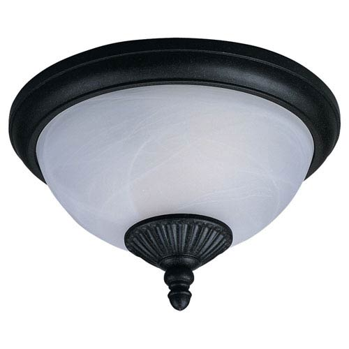 Sea Gull Lighting Yorktowne Two-Light Outdoor Ceiling Light