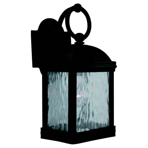 Branford Obsidian Mist Small Outdoor Wall Mount