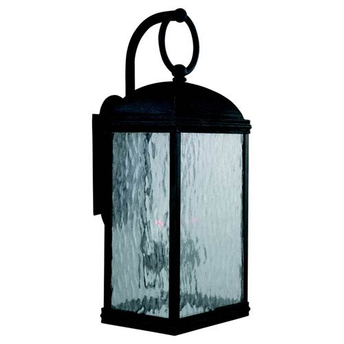 Branford Obsidian Mist Large Outdoor Wall Mount