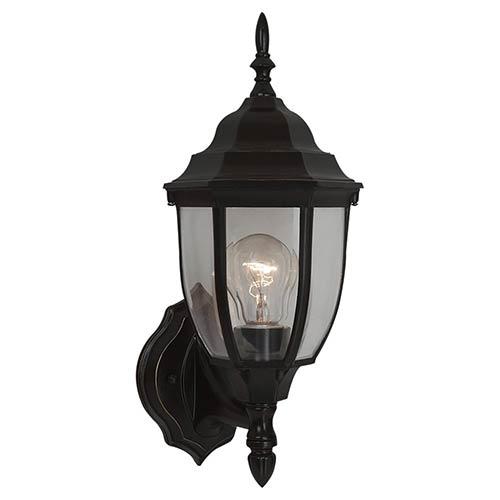 Bakersville Heirloom Bronze 15.5-Inch High One-Light Outdoor Wall Lantern