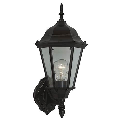 Sea Gull Lighting Bakersville Heirloom Bronze 17-Inch High One-Light Outdoor Wall Lantern