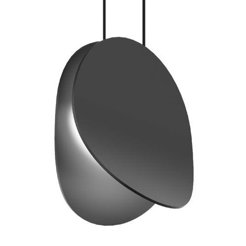 Malibu Discs Satin Black 8-Inch LED Pendant