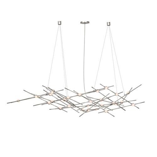 Constellation Satin Nickel LED 56-Inch Pendant