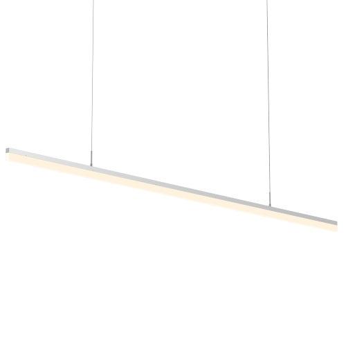 Stiletto Satin Aluminum 72-Inch LED Pendant