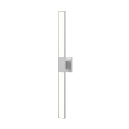 Planes Bright Satin Aluminum LED 2.5-Inch Wall Sconce