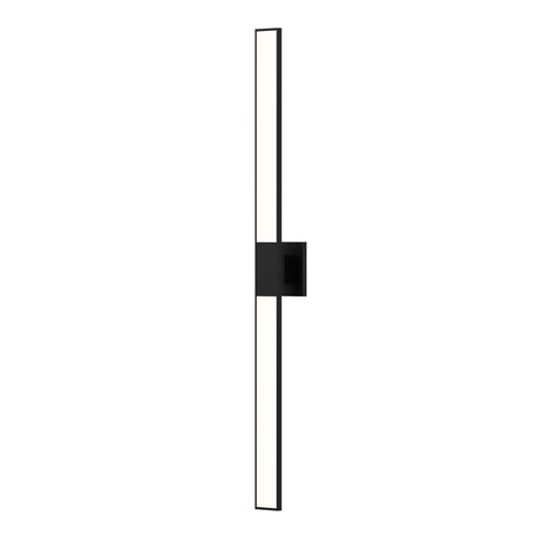 Planes Satin Black LED 2.5-Inch Wall Sconce