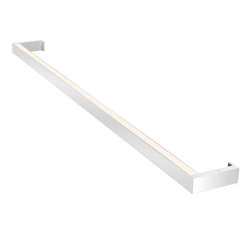 Thin-Line Bright Satin Aluminum LED 36-Inch Wall Bar