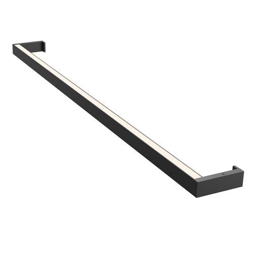 SONNEMAN Thin-Line Satin Black LED 36-Inch Wall Bar