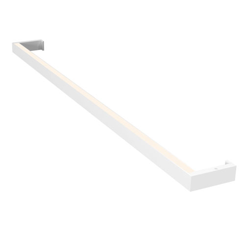 SONNEMAN Thin-Line Satin White LED 36-Inch Wall Bar