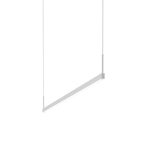 Thin-Line Satin White LED 48-Inch Pendant