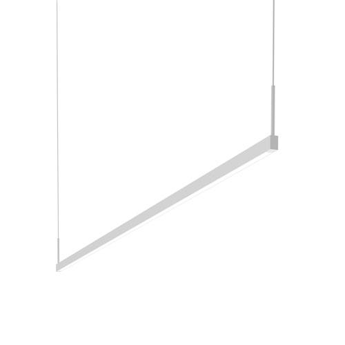Thin-Line Satin White LED 72-Inch Pendant