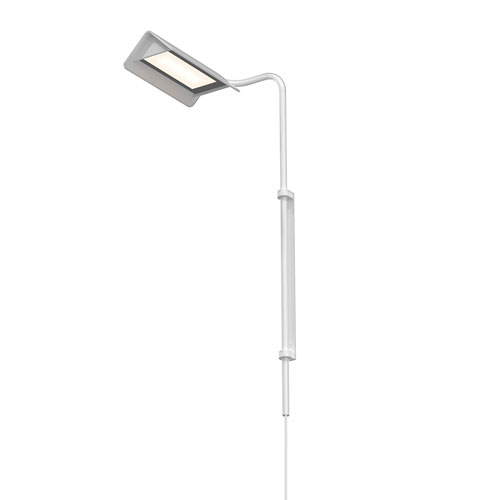 Morii Satin White LED 10-Inch Wall Lamp