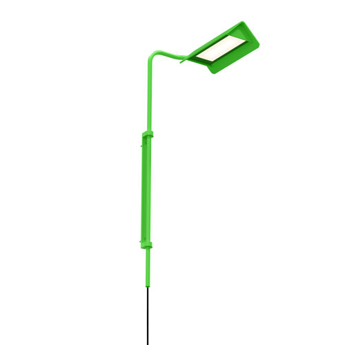 Morii Satin Green LED 10-Inch Wall Lamp