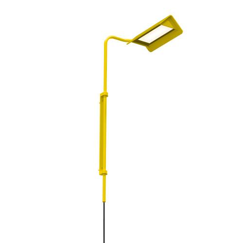 SONNEMAN Morii Satin Yellow LED 10-Inch Wall Lamp