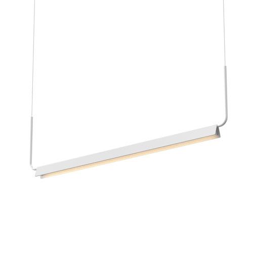 Morii Satin White LED 48-Inch Pendant