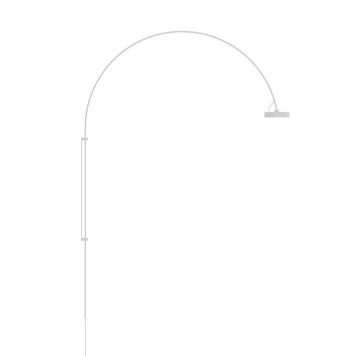 Pluck Satin White LED 4-Inch Wall Lamp