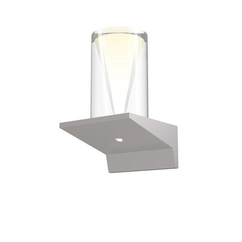 SONNEMAN Votives Bright Satin Aluminum LED 4-Inch Wall Sconce