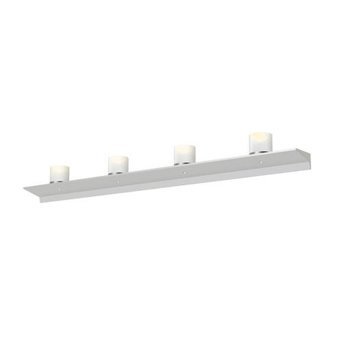 SONNEMAN Votives Satin White LED 48-Inch Wall Bar