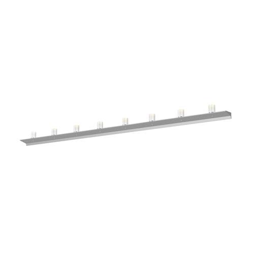 Votives Bright Satin Aluminum LED 96-Inch Wall Bar