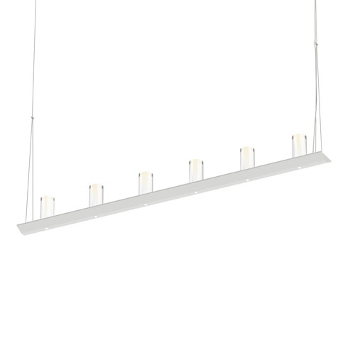 Votives Satin White LED 48-Inch Pendant