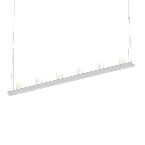 SONNEMAN Votives Satin White LED 48-Inch Pendant
