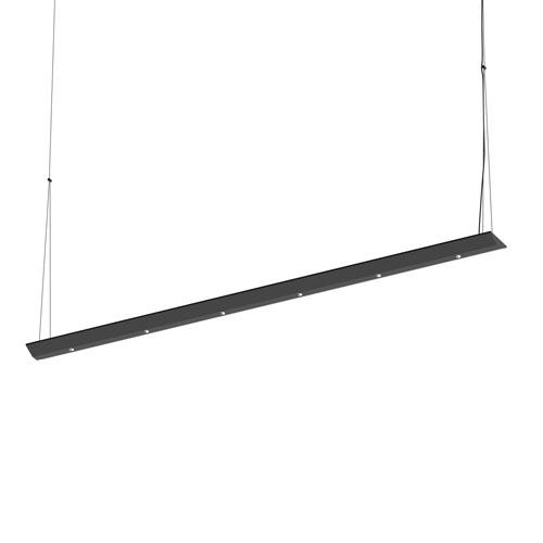 SONNEMAN Votives Satin Black LED 48-Inch Pendant
