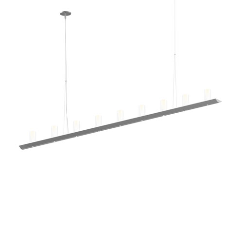 SONNEMAN Votives Bright Satin Aluminum LED 72-Inch Pendant