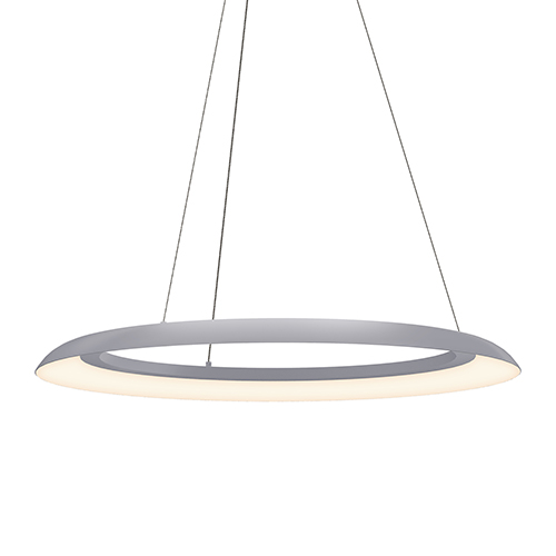 Torus Dove Gray 32-Inch One-Light LED Pendant