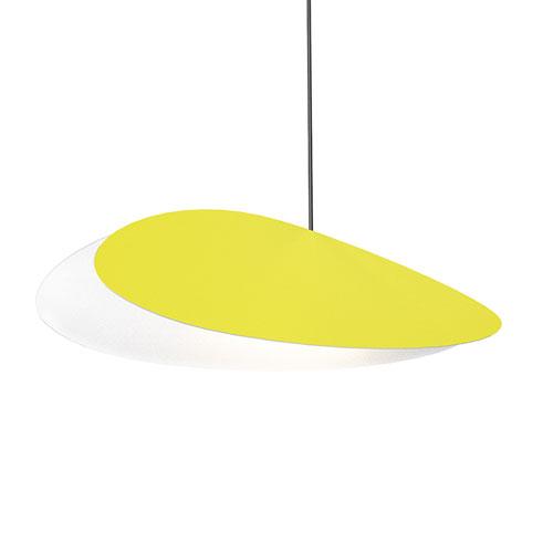 Papillons Satin Yellow LED Pendant