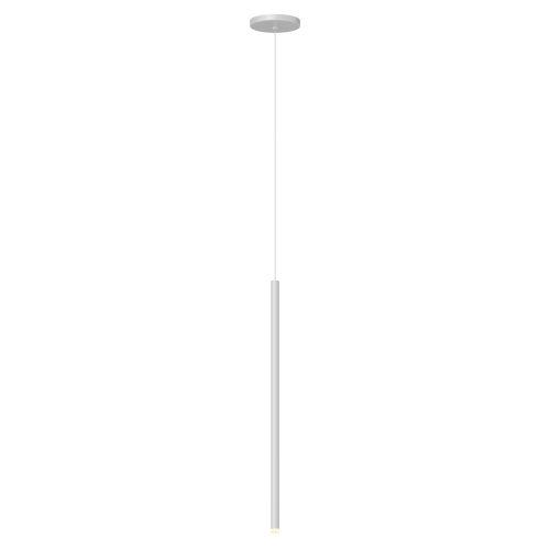 Light Chimes Satin White 24-Inch LED Mini Pendant