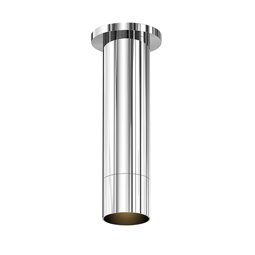 ALC Polished Chrome One-Light LED Flush Mount with Snoot Trim