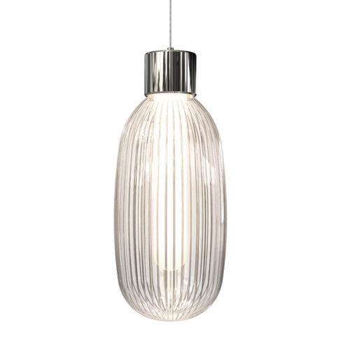 Friso Polished Nickel LED Pendant