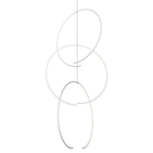 Torc  Three-Light LED Triple Pendant
