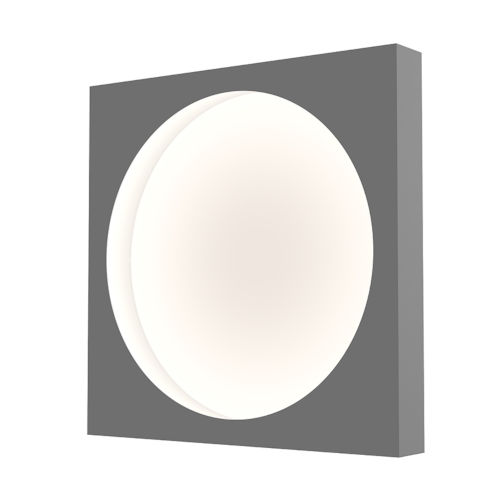 Vuoto Dove Gray 15-Inch LED Sconce