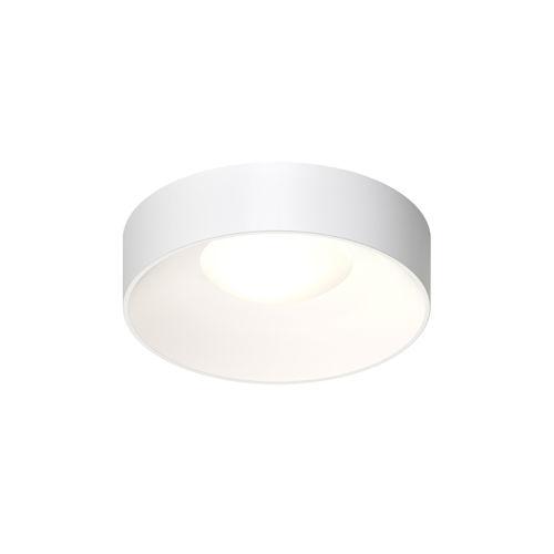 Ilios Satin White 14-Inch LED Flush Mount