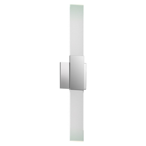 Radiant Lines Polished Chrome LED 2.5-Inch Wall Sconce