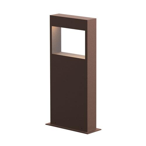 SONNEMAN Light Frames Textured Bronze LED 7-Inch Bollard