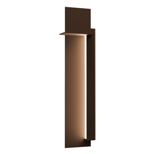 Backgate Textured Bronze 30-Inch Right LED Sconce