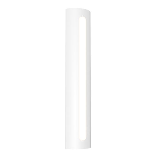 Porta Textured White 24-Inch LED Sconce