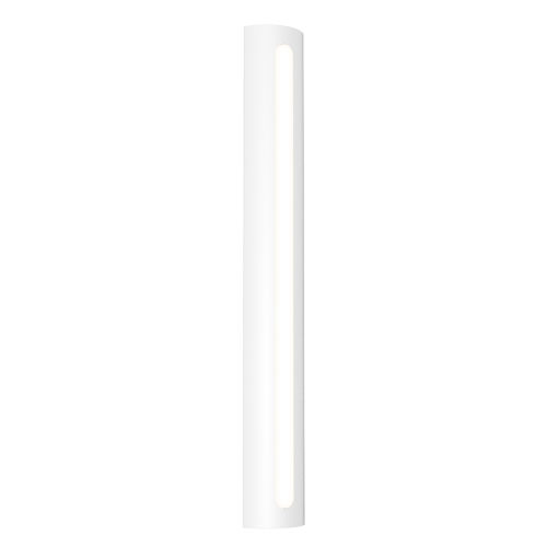 Porta Textured White 36-Inch LED Sconce