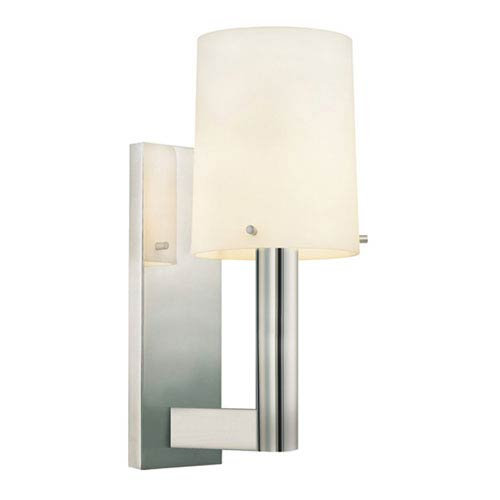 Calmo 4-Inch Polished Nickel Sconce