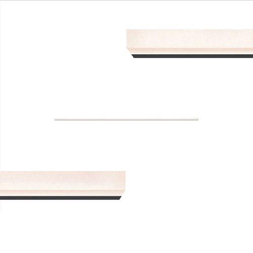 Stiletto Lungo Satin Black LED Wall Bar