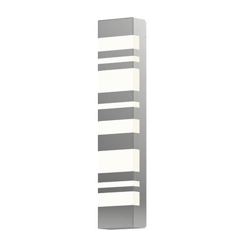 Bath Notes Satin Stainless Steel 24-Inch LED Bath Bar