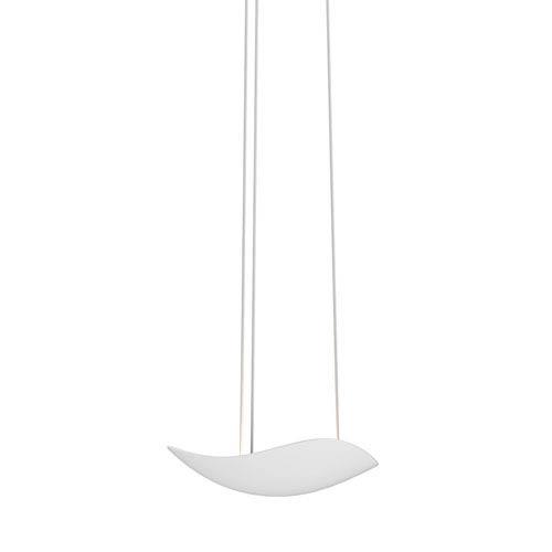 Infinity Satin White 2-Inch LED Mini Pendant
