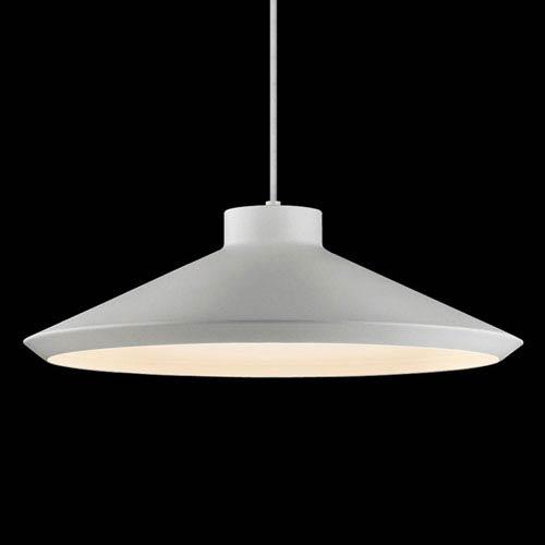 Koma Bright Satin Aluminum LED Pendant