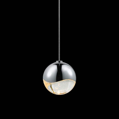 SONNEMAN Grapes Polished Chrome LED Pendant