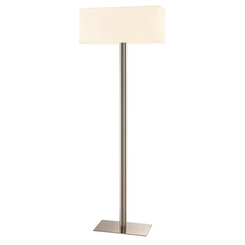 SONNEMAN Madison Polished Nickel 22-Inch Two Light Floor Lamp