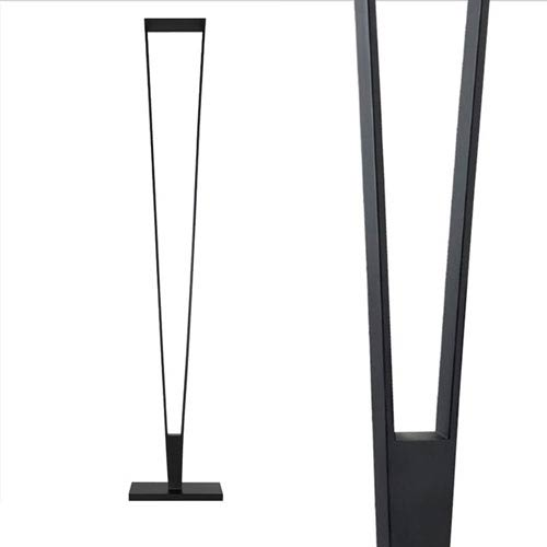 best sneakers 846db 55e44 V-Torch Satin Black LED Torchiere/Floor Lamp