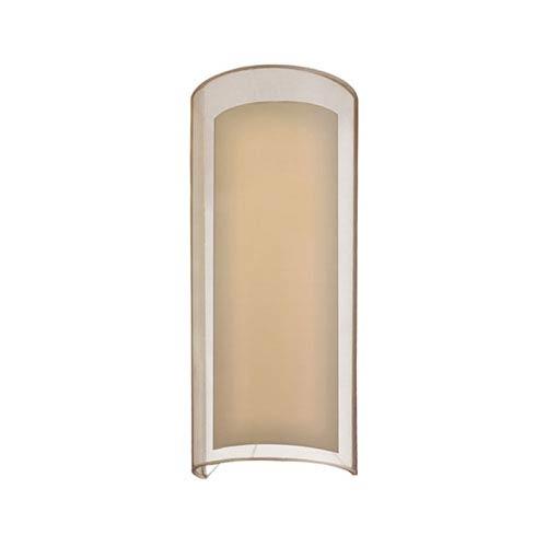SONNEMAN Puri Black Brass One-Light Wall Sconce